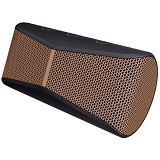LOGITECH X300 Mobile Speaker [984-000397] - Black/Brown Grill - Speaker Bluetooth & Wireless